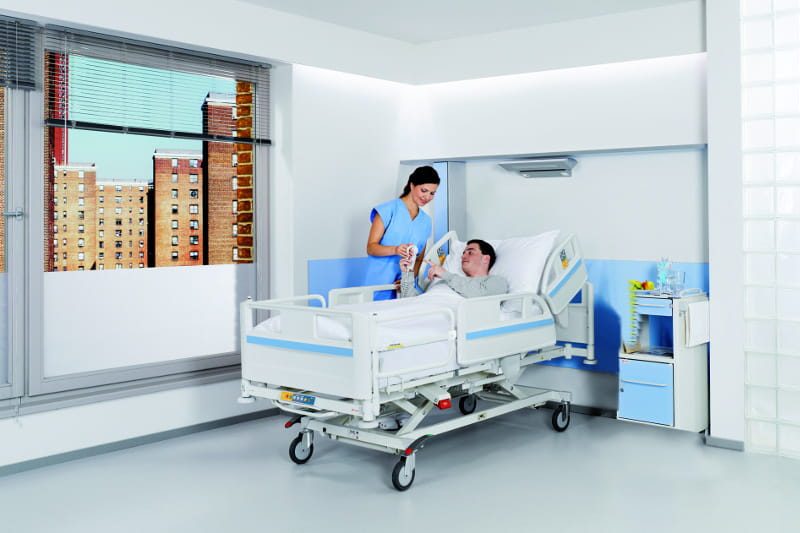 Positions In A Hospital Bed