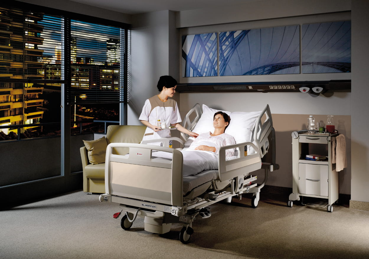 Cardiac chair hospital bed - Cardiac Chair
